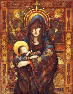 ___madonna_and_child____by_ninebreaker