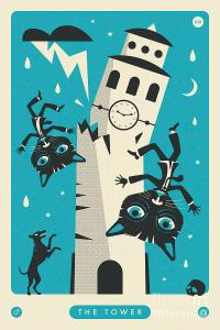 the-tower-tarot-card-cat-jazzberry-blue